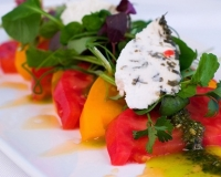 Red & Yellow Tomato Salad